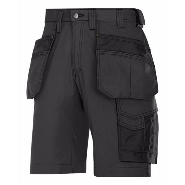 Snickers Håndværker shorts med hylsterlommer, Rip-Stop