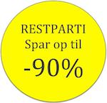 Restpartier - spar op til 90%