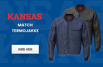 Kansas Match Termojakke