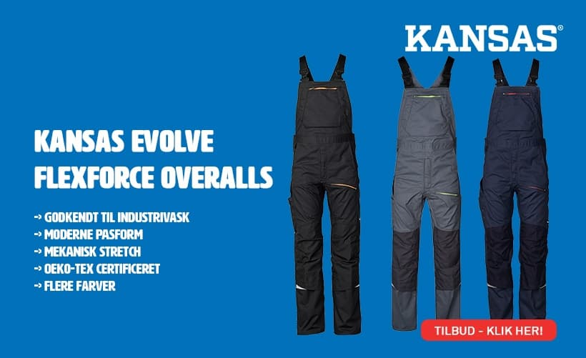 Kansas Evolve FlexForce Overalls