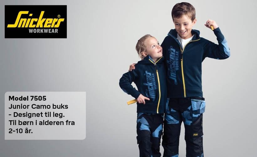 Snickers børne flexiwork bukser