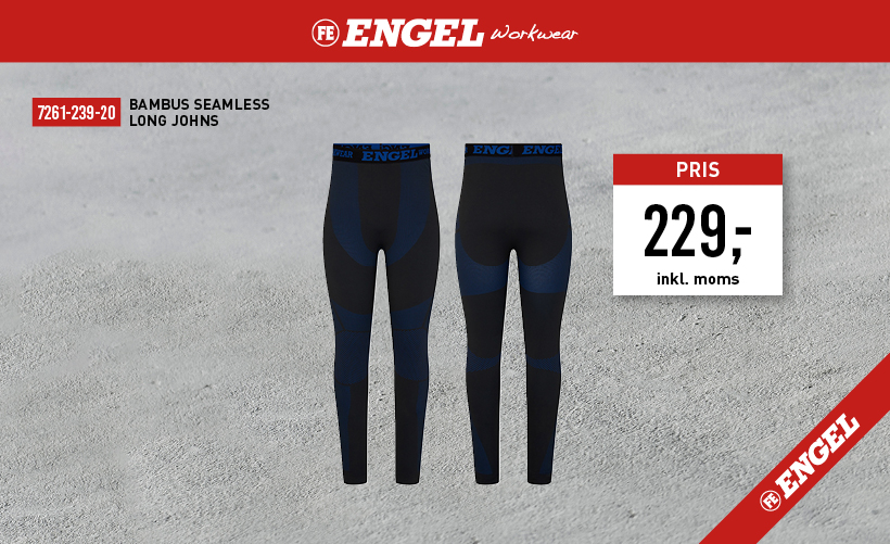 F. Engel Bambus Seamless Long Johns