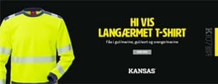 Hi Vis Langærmet T-shirt