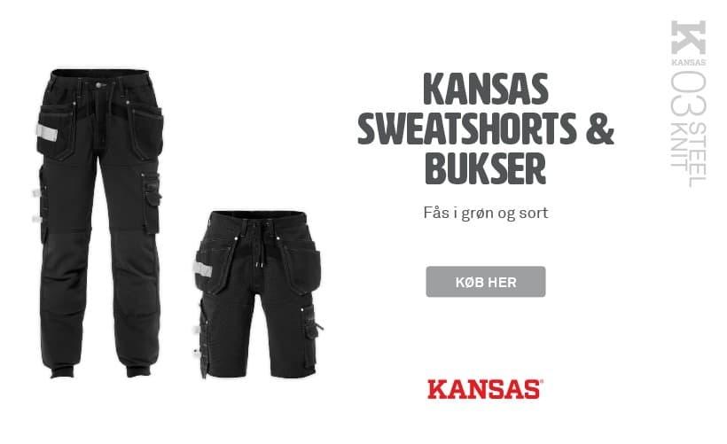 Kansas sweatshorts & bukser